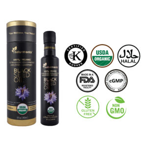 Buy USDA Certified 100% 🌿 Organic Black Seed Oil – Cold Pressed, 8 oz